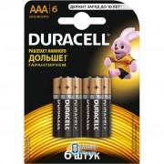 Duracell AAA MN2400 LR03 * 6 (5000394107472 / 81483511)