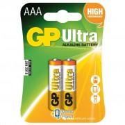 GP AAA LR03 ULTRA Alcaline * 2 (24AU-U2)