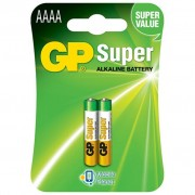 GP AAAA LR61 Super Alcaline * 2 (GP25A-2U2)