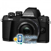 OLYMPUS E-M10 mark II Pancake Zoom 14-42 Kit black/black (V207052BE000)