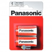 PANASONIC C R14 RED ZINK * 2 (R14REL/2BPR)