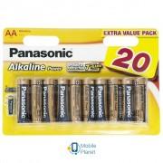 PANASONIC LR06 Alkaline Power * 20 (LR6REB/20BW)