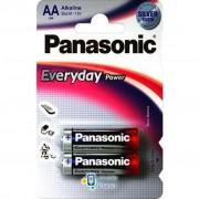 PANASONIC LR06 PANASONIC Everyday Power * 2 (LR6REE/2BR)