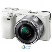 SONY Alpha 6000 kit 16-50mm White (ILCE6000LW.CEC)