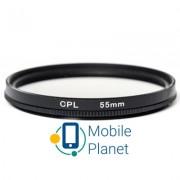 Светофильтр PowerPlant CPL 55 мм (CPLF55)