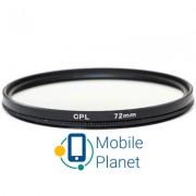 Светофильтр PowerPlant CPL 72 мм (CPLF72)