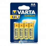 Varta AA Superlife Zinc-Carbon * 4 (02006101414)