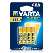 Varta SUPERLIFE ZINC-CARBON * 4 (2003101414)