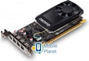 Hewlett-Packard NVIDIA Quadro P1000, 4GB GDDR5 (128 Bit), 4x miniDP (1ME01AA) EU