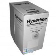 Кабель сетевой Hyperline UTP 305м cat.5e CCA (UTP4-C5e-SOLID-2451-CCA)