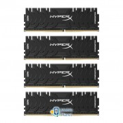DDR4 32GB (4x8GB) 3000 MHz HyperX Predator Kingston (HX430C15PB3K4/32)