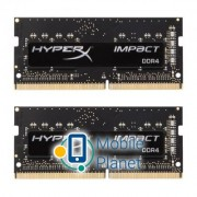 SoDIMM DDR4 16GB (2x8GB) 2400 MHz HyperX Impact Kingston (HX424S14IB2K2/16)