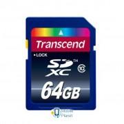64Gb SDXC class 10 Transcend (TS64GSDXC10)