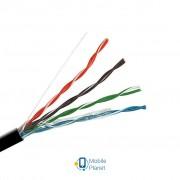 Кабель сетевой OK-Net UTP 305м 4х2х0,48 внешний (КПП-ВП (100) 4х2х0,48)