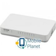 Коммутатор сетевой D-Link DGS-1008A/D1A