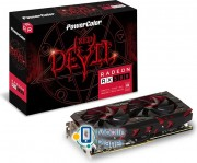 Power Color Radeon RX 580 Red Devil, 8GB GDDR5 (256 Bit), DVI-D, HDMI, 3x DP (AXRX580 8GBD5-3DH/OC) EU