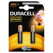 Duracell Basic AAA/LR03 BL 2шт (81545417/81528141)