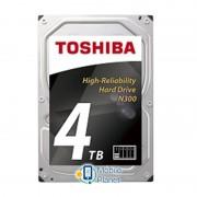 HDD SATA 4.0TB Toshiba N300 NAS 7200rpm 128MB (HDWQ140UZSVA)