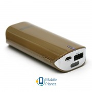 PowerPlant PB-LA9005 5200mAh Brown (PPLA9005) + универсальный кабель