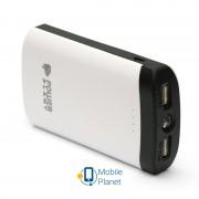 PowerPlant PB-LA9212 7800mAh Black/White (PPLA9212) + универсальный кабель