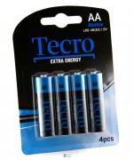 Tecro Extra Energy Alkaline AA/LR06 BL 4 шт (LR6-4B(EE))