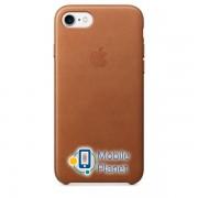 Аксессуар для iPhone Apple Leather Case Saddle Brown (MNYW2)for iPhone SE