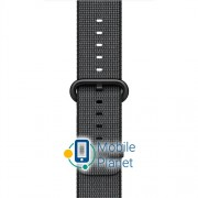 Apple Watch 42MM Woven Nylon Band Black (MM9Y2AM/A)