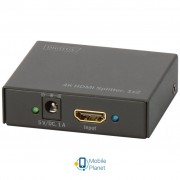 Сплиттер DIGITUS HDMI Splitter (In*1 Out*2) 4K (DS-46304)