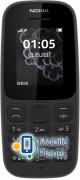 Nokia 105 DS NEW Black ГосКом