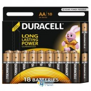 Duracell AA MN1500 LR06 * 18 (5000394107519 / 81545414)