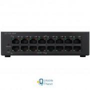 Коммутатор сетевой Cisco SF110D-16HP-EU