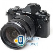 OLYMPUS E-M5 mark II 12-40 PRO Kit + HLD-8 + BLN-1 black/black (V207041BE010)