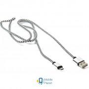 Дата кабель USB 2.0 AM to Micro 5P 1.0m PowerPlant (CA910212)
