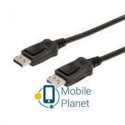 Кабель мультимедийный Display Port to Display Port 5.0m DIGITUS (AK-340100-050-S)