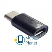 Переходник micro USB F to Type C REAL-EL (EL123500018)