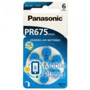 PANASONIC PR44 / PR675 (1.4V) * 6 (PR-675H/6LB)