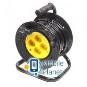 PowerPlant на катушке 20 м, 4 розетки (JY-2002/20) (PPRA10M200S4)