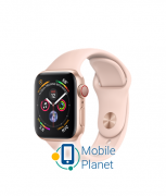 Apple Watch Series 4 (GPS Cellular) 40mm Gold Aluminum Case with Pink Sand Sport Band (MTUJ2) / (MTVG2)