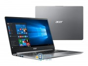 Acer Swift 1 N4000/4GB/64/Win10 IPS FHD Серебрянный (NX.GXHEP.005)