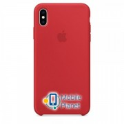 Аксессуар для iPhone Apple Silicone Case PRODUCT RED (MRWH2) for XS Max