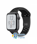 Apple Watch Nike Plus Series 4 (GPS) 44mm Gray Aluminum Case with Anthracite/Black Nike Sport Band (MU6L2)