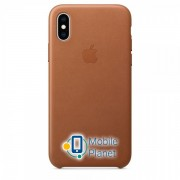 Аксессуар для iPhone Apple Leather Case Saddle Brown (MRWP2) for XS