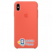 Аксессуар для iPhone Apple Silicone Case Nectarine (MTFA2) for XS