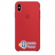 Аксессуар для iPhone Apple Silicone Case PRODUCT RED (MRWC2) for XS