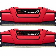 DDR4 16GB (2x8GB) 3000 MHz RipjawsV Red G.Skill (F4-3000C16D-16GVRB)