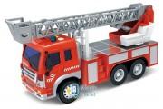 Машинка инерционная 1:16 Wenyi Пожарная со звуком и светом (WY-350B)