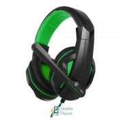Гарнитура Gemix X-370 Black/Green (04300098)