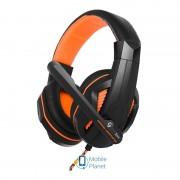 Гарнитура Gemix X-370 Black/Orange (04300102)