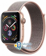 Apple Watch Series 4 (GPS Cellular) 40mm Gold Case with Pink Sport Loop (MTUK2, MTVH2)