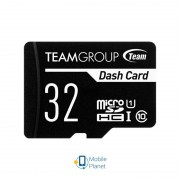 MicroSDHC 32GB UHS-I Class 10 Team Dash Card + SD-adapter (TDUSDH32GUHS03)